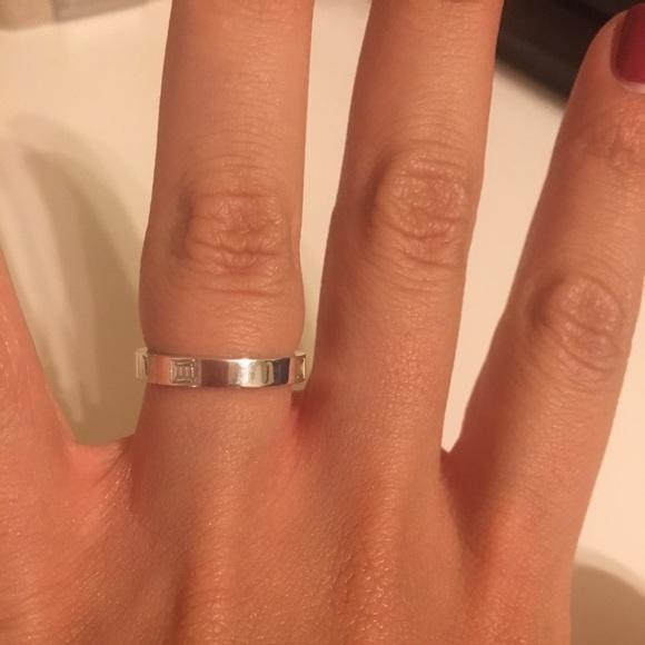 b6936d838 Tiffany & Co. Jewelry   Tiffany And Co Atlas Narrow Band Ring   Poshmark